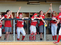 NCAA Softball Regionals at UMASS Friday, May 21, 2010.  Game 1 Az St. 6 BU 1, game 2 LIU 3, UMASS 1.