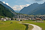Small Swiss village near the town of Privilasco, a town in the Valposchiavo valley which the Bernina Express passes on the way to and from Tirano, Italy and St. Mortiz, Switzerland
