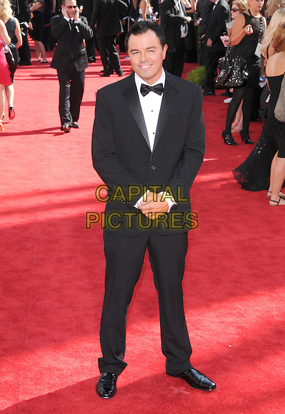 SETH MacFARLANE.Arrivals at the 61st Primetime Emmy Awards held at Te Nokia Theater in Los Angeles, California, USA..September 20st, 2009     .emmys full length black tuxedo .CAP/DVS.©Debbie VanStory/Capital Pictures.