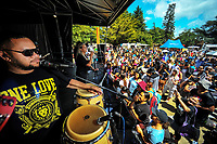 Tomorrow People perform at Waifest 2018 at Queen Elizabeth Park in Masterton, New Zealand on Tuesday, 6 February 2018. Photo: Dave Lintott / lintottphoto.co.nz