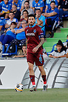 Jose Sosa of Trabzonspor during UEFA Europa League match between Getafe CF and Trabzonspor at Coliseum Alfonso Perez in Getafe, Spain. September 19, 2019. (ALTERPHOTOS/A. Perez Meca)