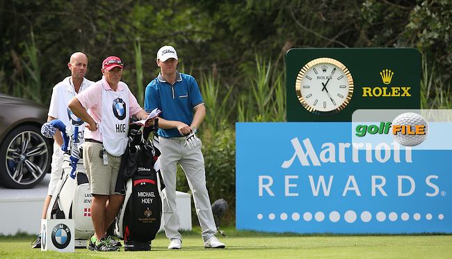 Michael Hoey (NIR) adds one shot for -11 remaining in contention during Round Three of the 2015 BMW International Open at Golfclub Munchen Eichenried, Eichenried, Munich, Germany. 27/06/2015. Picture David Lloyd | www.golffile.ie