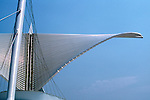 The Milwaukee Cavatrava Art Museum looking over Lake Michigan