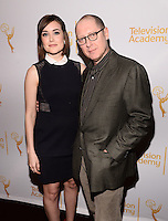 NEW YORK, NY - APRIL 02: Megan Boone ,James Spader attend an evening with 'The Blacklist' at Florence Gould Hall on April 2, 2014 in New York City.  HP/Starlitepics