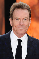 "Bryan Cranston arrives for the ""Godzilla"" premiere at the Odeon Leicester Square, London. 11/05/2014 Picture by: Steve Vas / Featureflash"