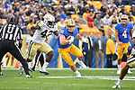 PITTSBURGH, PA, OCT 8: The Pitt football team hosts Georgia Tech for Homecoming at Heinz Field in Pittsburgh, Pennsylvania on October 8, 2016.<br /> Photographer: Pete Madia/Pitt Athletics
