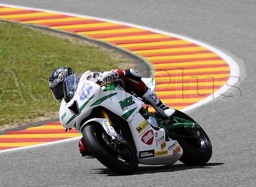 06 06 2010 Anthony West out MZ. Moto2 class, 600cc spec Honda eninges in prototype chassis. Gran Premio d'Italia TIM, Mugello circuit, Italy.