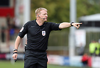 Referee Trevor Kettle<br /> <br /> Photographer Rich Linley/CameraSport<br /> <br /> The EFL Sky Bet League One - Fleetwood Town v Oxford United - Saturday 7th September 2019 - Highbury Stadium - Fleetwood<br /> <br /> World Copyright © 2019 CameraSport. All rights reserved. 43 Linden Ave. Countesthorpe. Leicester. England. LE8 5PG - Tel: +44 (0) 116 277 4147 - admin@camerasport.com - www.camerasport.com