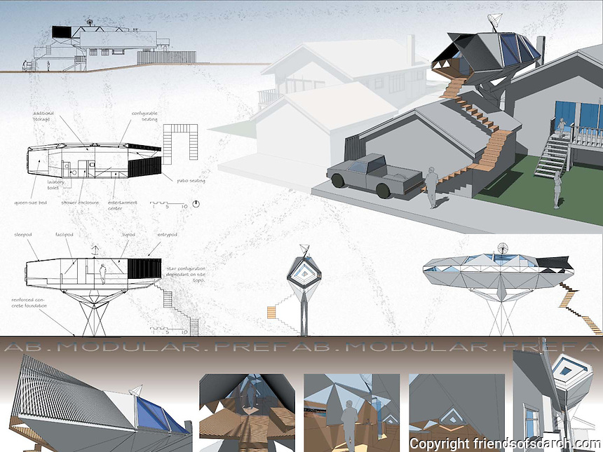 Student entry in FSDA's ADU Competition 2004. David Jacobs.<br />