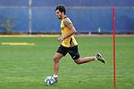 Getafe's Hugo Duro during training session. May 15,2020.(ALTERPHOTOS/Acero)