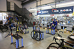 Visit to the De Rosa factory, Cusano Milanino, Italy. 12th October 2018.<br /> Picture: Eoin Clarke | Cyclefile<br /> <br /> <br /> All photos usage must carry mandatory copyright credit (© Cyclefile | Eoin Clarke)