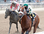 Mucho Macho Man wins Suburban, Emma's Encore the Victory Ride - Belmont Park -7/7/12