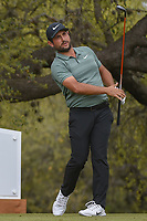Alexander Levy (FRA) watches his tee shot on 10 during day 3 of the World Golf Championships, Dell Match Play, Austin Country Club, Austin, Texas. 3/23/2018.<br /> Picture: Golffile | Ken Murray<br /> <br /> <br /> All photo usage must carry mandatory copyright credit (&copy; Golffile | Ken Murray)