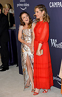 LOS ANGELES, CA. February 19, 2019: Billie Lourd & Leslie Grossman at the 2019 Costume Designers Guild Awards at the Beverly Hilton Hotel.<br /> Picture: Paul Smith/Featureflash