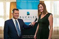 Mike Bushell with Marie Cooper of Buckles