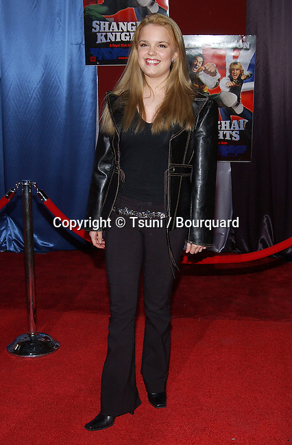 Kimberly Brown arriving at the premiere of SHANGHAI KNIGHT premiere at the El Captain in Los Angeles. February 2, 2003