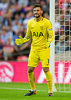Tottenham's Hugo Lloris during the pre season friendly match between Tottenham Hotspur and Juventus at White Hart Lane, London, England on 5 August 2017. Photo by Andrew Aleksiejczuk / PRiME Media Images.