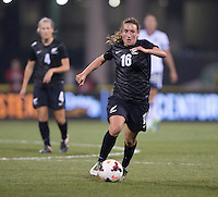 Annalie Longo. The USWNT tied New Zealand, 1-1, at an international friendly at Crew Stadium in Columbus, OH.