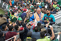 Mohammad Hafeez (Pakistan) signs autographs and poses for photographs for the fans during Pakistan vs Sri Lanka, ICC World Cup Cricket at the Bristol County Ground on 7th June 2019
