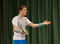 March 15, 2015, Netherlands, Rotterdam, TC Victoria, NOJK, Ryan Nijboer (NED)<br /> Photo: Tennisimages/Henk Koster