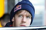21.02.2012 Barcelona Spain. Formula One testind day1. German driver Sebastian Vettel