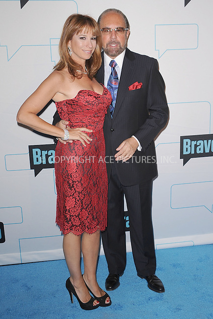 WWW.ACEPIXS.COM . . . . . .March 30, 2011...New York City...Jill Zarin and Bobby Zarin attend the 2011 Bravo Upfront at 82 Mercer  on  March 30, 2011 in New York City....Please byline: KRISTIN CALLAHAN - ACEPIXS.COM.. . . . . . ..Ace Pictures, Inc: ..tel: (212) 243 8787 or (646) 769 0430..e-mail: info@acepixs.com..web: http://www.acepixs.com .