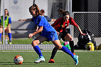 Women's Premier Football - Powerex Petone Premier v Brooklyn Northern United at Petone Memorial Park, Lower Hutt, New Zealand on Saturday 5 May 2018.<br /> Photo by Masanori Udagawa. <br /> www.photowellington.photoshelter.com