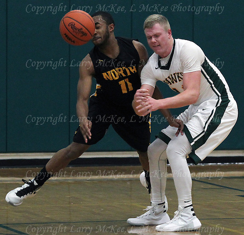 David Ford. North Farmington at Farmington Hills Harrison, Boys Varsity Basketball, January 8, 2016. Photos: Larry McKee, L McKee Photography. PLEASE NOTE: ALL PHOTOS ARE CUSTOM CROPPED. THIS CAN CAUSE EXTRA WHITE SPACE AROUND BORDERS. BEFORE PURCHASING AN IMAGE, PLEASE CHOOSE PROPER PRINT FORMAT TO BEST FIT IMAGE DIMENSIONS.  L McKee Photography, Clarkston, Michigan. L McKee Photography, Specializing in Action Sports, Senior Portrait and Multi-Media Photography. Other L McKee Photography services include business profile, commercial, event, editorial, newspaper and magazine photography. Oakland Press Photographer. North Oakland Sports Chief Photographer. L McKee Photography, serving Oakland County, Genesee County, Livingston County and Wayne County, Michigan. L McKee Photography, specializing in high school varsity action sports and senior portrait photography.