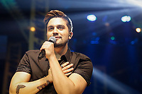 """SÃO PAULO, SP 17.05.2019: LUAN SANTANA-SP - O cantor Luan Santana, se apresentou na noite desta sexta-feira (17), no Espaço das Américas, zona oeste da capital paulista. O show marca o encerramento na capital paulista da turnê """"Live Movel X"""", que une as turnês """"Ano X"""" e """"Live Móvel"""" e também serviu de esquenta para a gravação do novo DVD, que acontece dia 19 em Salvador, Bahia. (Foto: Ale Frata/Codigo19)"""