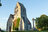 France, Calvados (14), Cricquebœuf, église Saint-Martin dite  Chapelle aux lierres // France, Calvados, Cricquebœuf, church of Saint-Martin called Chapelle aux lierres