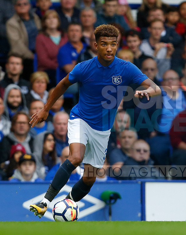 Everton's Mason Holgate during the pre season friendly match at Goodison Park Stadium, Liverpool. Picture date 6th August 2017. Picture credit should read: Paul Thomas/Sportimage