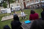 """17.6.2014, Potsdam, Universität Potsdam Campus Neues Palais. Israeltag – Autorenlesung von Ilan Goren """"Wo bist du, Motek?"""""""