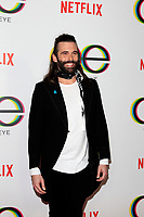"LOS ANGELES - FEB 7:  Jonathan Van Ness at the ""Queer Eye"" Season One Premiere Screening at the Pacific Design Center on February 7, 2018 in West Hollywood, CA"