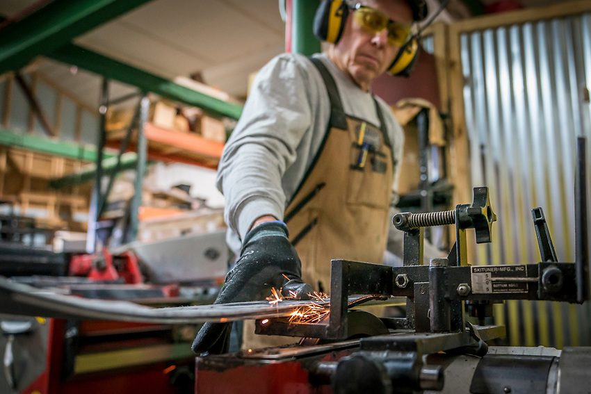 The Thompson family of Shaggy's Copper Country Skis build handcrafted skis in Northern Michigan.