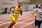 NAPERVILLE, IL - MARCH 11: Eric Halton of Salisbury State during the 400 meter dash at the Division III Men's and Women's Indoor Track and Field Championship held at the Res/Rec Center on the North Central College campus on March 11, 2017 in Naperville, Illinois. (Photo by Steve Woltmann/NCAA Photos via Getty Images)