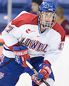 Brad King - The Boston College Eagles defeated the University of Massachusetts-Lowell River Hawks 4-3 in overtime on Saturday, January 28, 2006, at the Paul E. Tsongas Arena in Lowell, Massachusetts.