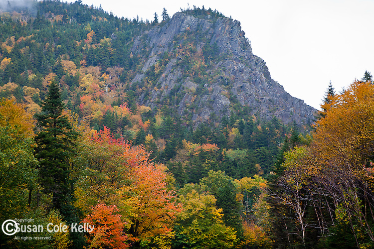 Sanguinary Mountain in Dixville Notch State Park, Dixville, NH, USA