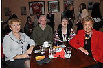 Roweena Collier, Jim and Marina Sweeney and Gwen Matthews pictured at the Mattock Rangers Annual awards night held in their clubrooms Collon.