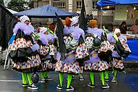 Carnaval de rua na Avenida Rio Branco. Rio de Janeiro. 2008.<br /> Foto de Luciana Whitaker.