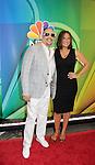 NBC Upfront - Ice T & Mariska Hargitay - Law & Order SVU at Radio City, New York City, New York on May 11, 2015 (Photos by Sue Coflin/Max Photos)