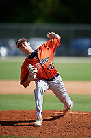 Jeremy Neff during the WWBA World Championship at the Roger Dean Complex on October 19, 2018 in Jupiter, Florida.  Jeremy Neff is left handed pitcher from West Palm Beach, Florida who attends Palm Beach Central High School and is committed to Richmond.  (Mike Janes/Four Seam Images)