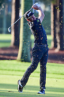 Keegan Bradley (USA) hits his approach shot on 2 during round 1 of the Honda Classic, PGA National, Palm Beach Gardens, West Palm Beach, Florida, USA. 2/23/2017.<br /> Picture: Golffile | Ken Murray<br /> <br /> <br /> All photo usage must carry mandatory copyright credit (&copy; Golffile | Ken Murray)