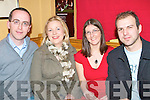 GOOD FUN: Having a fun time at the Table quiz in aid of the Oncology Unit at KGH in Stokers Lodge on Friday l-r: Owen O'Shea, Cecelia O'Neill, Emma Cremins and Dusan Cizmar.