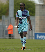 Marcus Bean of Wycombe Wanderers during the Sky Bet League 2 match between Morecambe and Wycombe Wanderers at the Globe Arena, Morecambe, England on 29 April 2017. Photo by Stephen Gaunt / PRiME Media Images.