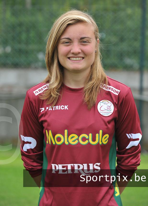 Dames SV Zulte Waregem : Annelies Van Elslander.foto DAVID CATRY / Vrouwenteam.be