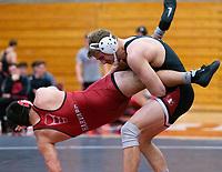 Stanford, California - January 12, 2019: Stanford Wrestling wins the dual meet 26-12 over Harvard at Burnham Pavilion in Stanford, California.