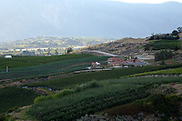 Benson Winery sits in the hills on the North Shore of Lake Chelan.