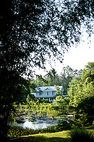 The historic Amed Tilley Farmstead house, a part of Architectural Trees in Bahama, NC.