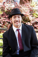 Graduation Portraits photographed at the Corte Madera Farmers Market in Marin County. The Egoian family drives from the Central Valley and works at several Bay Area markets.