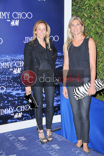Sheryl Crow and Gabrielle Reece<br />